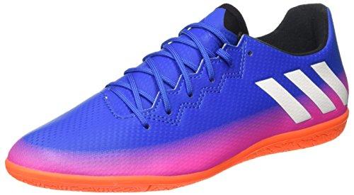 adidas Herren Messi 16.3 in Fußballschuhe, Blau (Blue/Ftwr White/Solar Orange), 44 EU