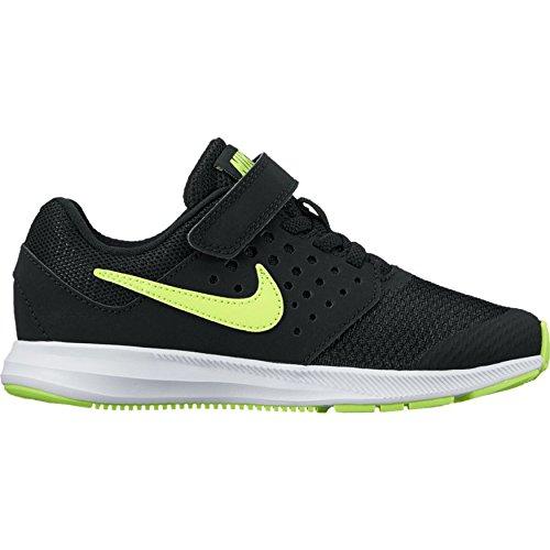 Nike Mädchen Downshifter 7 Gs Laufschuhe, Noir (Black/volt/white), 35 EU