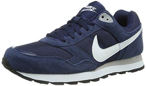 Nike  MD Runner TXT,  Herren Joggingschuhe , blau – Blu (scuro/Blanco/Gris) – Größe: 39 EU