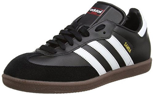 adidas Samba, 019000, Unisex-Erwachsene Low-Top Sneaker,Schwarz (black 1/white/gum5),47 1/3