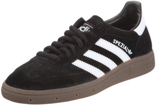 adidas Handball Spezial, Unisex-Erwachsene Laufschuhe, Schwarz (Black/Running White/Gum 4), 44 EU (9.5 Erwachsene UK)