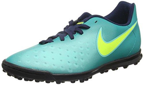 Nike Herren Magista Ola II TF Fußballschuhe, Türkis (Rio Teal/Volt-Obsidian-Clear Jade), 45 EU