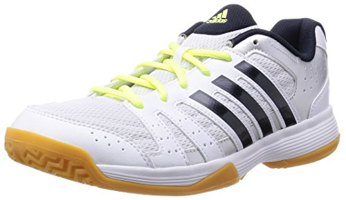 adidas Performance Ligra 3, Damen Volleyballschuhe, Weiß (Ftwr White/Night Navy/Silver Met.), 38 EU (5 Damen UK)
