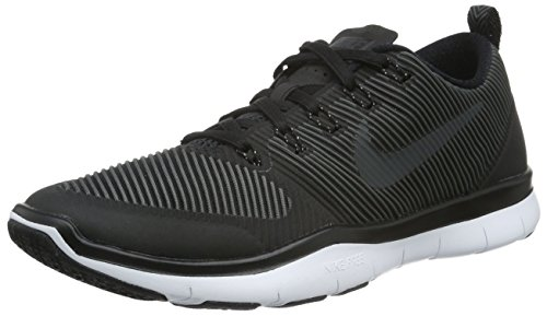 Nike Herren Free Train Versatility Hallenschuhe, Schwarz (Black/Black-White), 44.5 EU