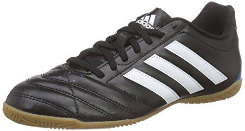 adidas Herren Goletto V in Fußballschuhe, Schwarz (Core Black/Ftwr White/Solar Blue2 S14), 42 EU