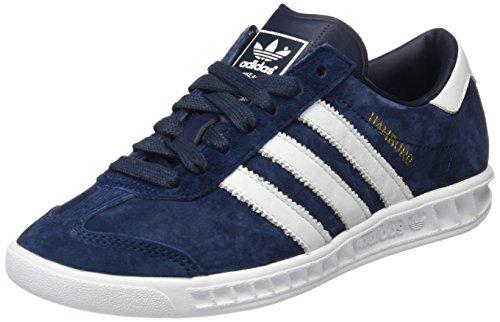 adidas Hamburg Herren Laufschuhe, Blau (Collegiate Navy/Ftwr White/Gold Met), 41 1/3 EU