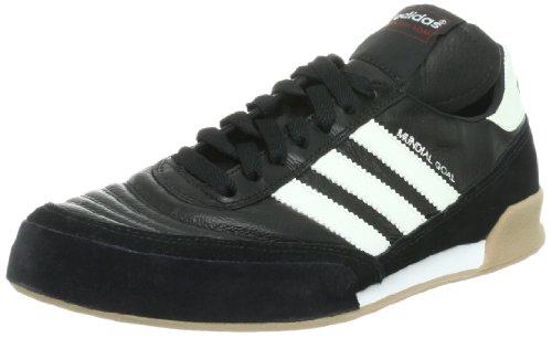 adidas Mundial Goal Herren Fußballschuhe, Schwarz (Black 1/running White/running White), 45 1/3 EU