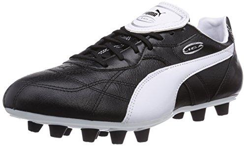 Puma Liga Classico FG, Herren Fußballschuhe, Schwarz (black-white-puma silver 01), 45 EU (10.5 Herren UK)