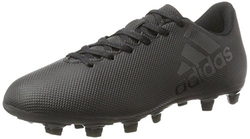 adidas Herren X 17.4 Fxg Fußballschuhe, Schwarz (Core Black/Core Black/Utility Black), 46 EU