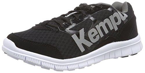 Kempa K-FLOAT, Unisex-Erwachsene Handballschuhe, Mehrfarbig (schwarz/anthra), 41 EU