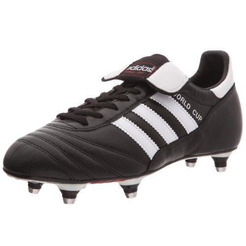 adidas World Cup, Unisex-Erwachsene Fußballschuhe, Schwarz (Black/Running White Ftw), 41 1/3 EU (7.5 Erwachsene UK)
