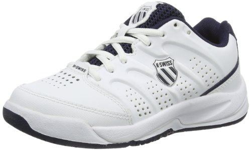 K-Swiss Performance Ultrascendor Omni, Unisex-Kinder Tennisschuhe, Weiß (White/Navy/Silver  167), 29 EU (11 Kinder UK)
