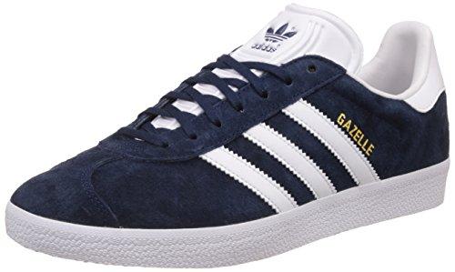 adidas Herren Gazelle Sneakers, Azul (Collegiate Navy/White/Gold Met), 44 EU