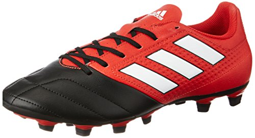 adidas Herren Ace 17.4 Fxg Futsalschuhe, Rot (Red/ftwr White/core Black), 42 EU