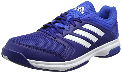 adidas Unisex-Erwachsene Essence Handballschuhe, Blau (Mystery Ink /ftwr White/blue), 46 EU