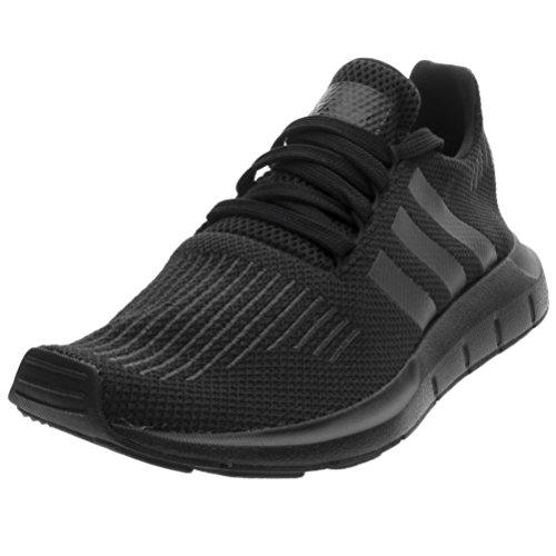 adidas Unisex-Kinder Swift Run Laufschuhe, Schwarz (Core Black/Utility Black/Core Black), 36 2/3 EU