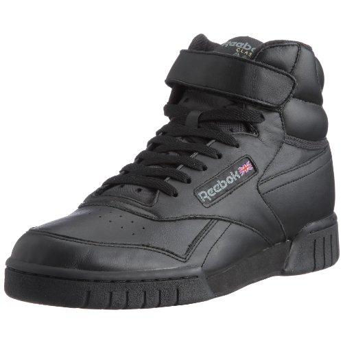 Reebok Ex O Fit HI, Herren Hohe Sneakers, Schwarz (Int Black), 45 EU (10.5 Erwachsene UK)