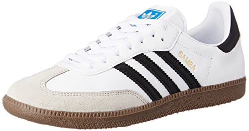 adidas Samba G17102 Herren Sneaker, Weiß (white / black 1 / gum5), Gr.48 EU