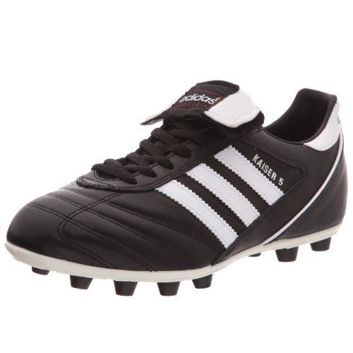 adidas Kaiser 5 Liga, Herren Fußballschuhe, Schwarz (Black/Running White Ftw/Red), 46 EU (11 Herren UK)