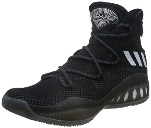 adidas Herren Crazy Explosive Primeknit Basketballschuhe, Black (Negbas / Ftwbla / Granit), 50 EU