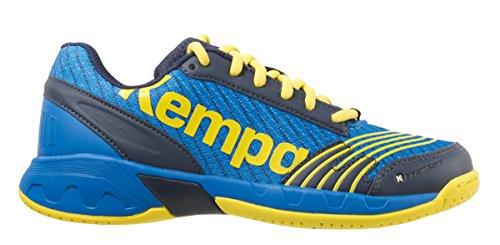 Kempa Jungen Attack Junior Sneakers, Blau (07), 39 EU(6 UK)