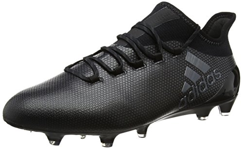 adidas Herren X 17.1 FG Fußballschuhe, Schwarz (Core Black/Core Black/Utility Black), 43 1/3 EU