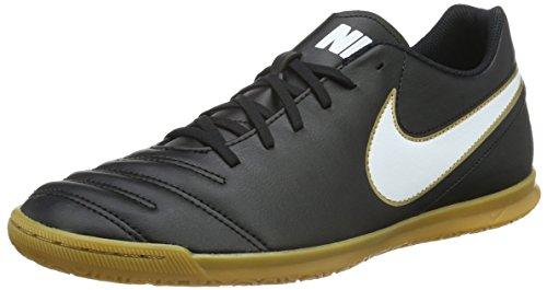 Nike Herren Tiempox Rio III IC Fußballschuhe, Schwarz (Black/White), 47.5 EU