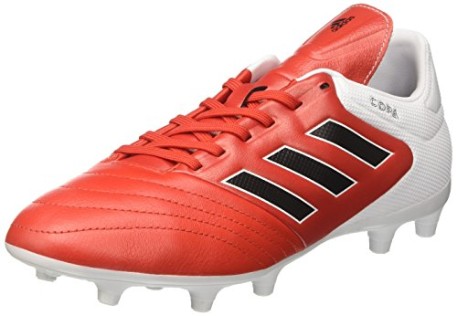 adidas Herren Copa 17.3 FG Fußballschuhe, Rot (Red/Core Black/Ftwr White), 44 2/3 EU