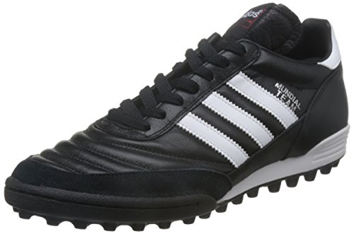adidas Originals Mundial Unisex-Erwachsene Hohe Sneakers, Schwarz (Black/Running White Ftw/Red), 44 2/3 EU
