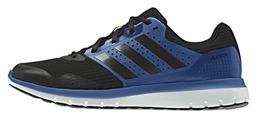adidas Performance Herren Duramo 7 Laufschuhe, Blau (Core Black/Eqt Blue S16/Core Black), 42 EU