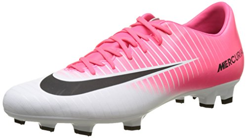 Nike Herren Mercurial Victory VI FG Fußballschuhe, Pink (Racer Pink/Black-White-White), 46 EU
