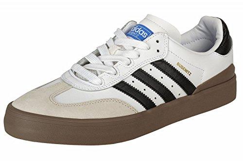 Adidas Busenitz Vulc Samba Größe 42 white/black/blue