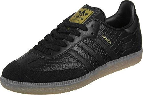 adidas Damen Samba W Turnschuhe, Black (Negbas / Negbas / Dormet), 42 EU