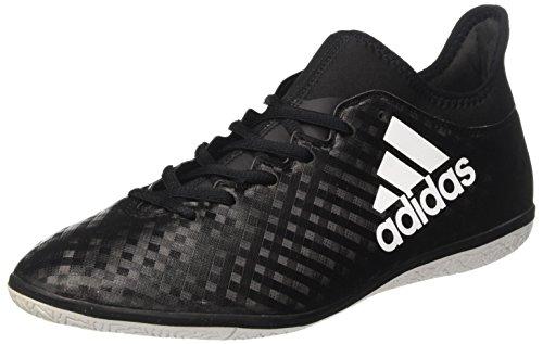 adidas Herren X 16.3 in Fußballschuhe, Schwarz (Cblack/ftwwht/cblack), 42 EU