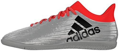 adidas Herren X 16.3 in Fußballschuhe, Plata (Plamet / Negbas / Rojsol), 42 2/3 EU