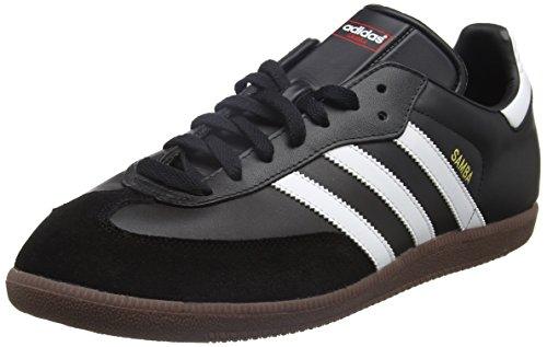 adidas Samba, 019000, Unisex-Erwachsene Low-Top Sneaker, Schwarz (black 1/white/gum5), 40 EU