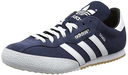 adidas Herren Samba Super Suede Sneaker, Blau (Navy), 44 EU