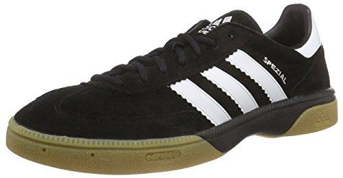 adidas Performance HB Spezial Herren Handballschuhe, Schwarz (Black 1/Running White/Black 1), 39 1/3 EU