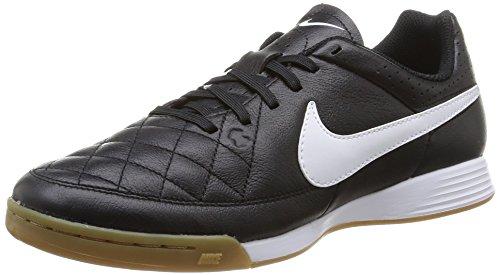Nike Tiempo Genio IC Herren Fußballschuhe, Schwarz (Black/White 010), 44 EU
