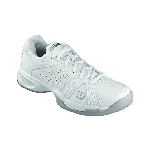 Wilson Damen Rush Swing W White Tennisschuhe, Mehrfarbig (White 001A), 39 2/3 EU