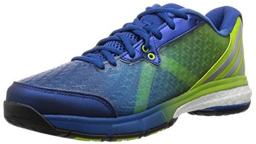 adidas Energy Volley Boost 2.0 – eqtblu/msilve/sesosl, Größe:10.5