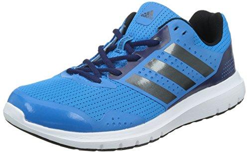 adidas Duramo 7 Herren Laufschuhe, Blau (Solar Blue/Night Met, Midnight Indigo F), 42 2/3 EU