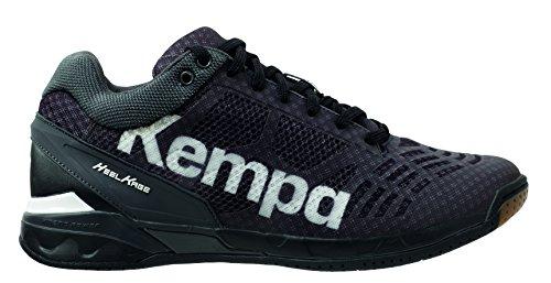 Kempa Herren Attack Midcut Hohe Sneakers, Schwarz (01), 46 EU