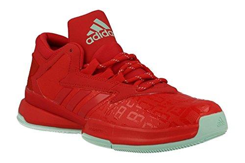 adidas Herren Street Jam Ii Basketballschuhe, Multicolore (Rayred/Icegrn/Rayred), 42 2/3 EU
