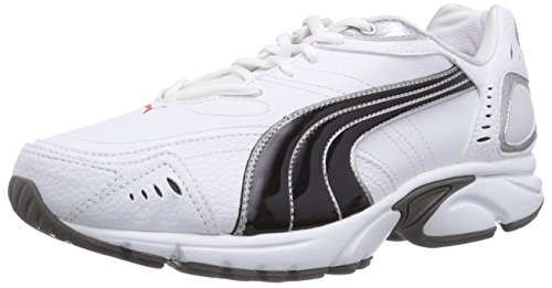 Puma Xenon TR SL, Herren Laufschuhe, Weiß (white-black-puma silver-high risk red-steel grey 02), 40.5 EU (7 Herren UK)