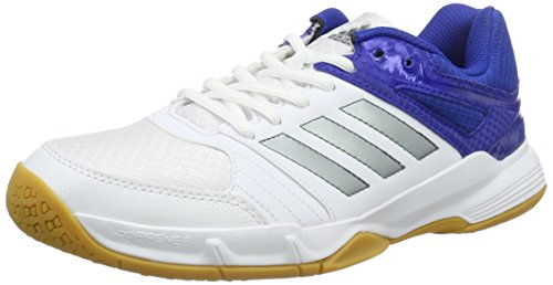 adidas Herren Speedcourt M Handballschuhe, Weiß (Ftwwht/Ngtmet/Croyal), 48 2/3 EU