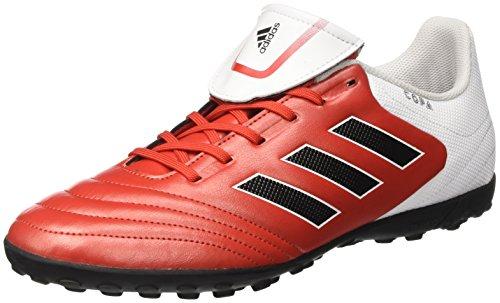 Adidas Herren Copa 17.4 TF für Fußballtrainingsschuhe, Mehrfarbig (Rojo/Negbas/Ftwbla), 43.1/3 EU