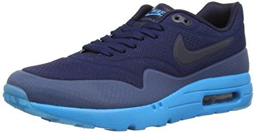 Nike  Air Max 1 Ultra Moire,  Herren Joggingschuhe , Blau (Midnight Navy/Obsidian/New Slate) – Größe: EUR 46