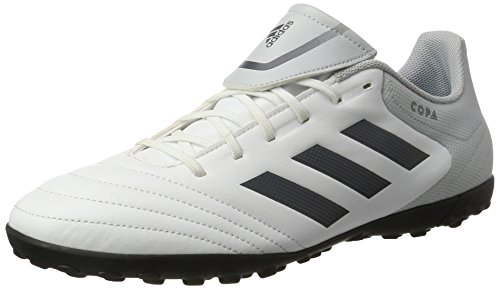 adidas Herren Copa 17.4 TF Fußballschuhe, Weiß (Footwear White/Onix/Clear Grey), 44 2/3 EU