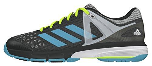 adidas Damen Court Stabil 13 Handballschuhe, Grau (Dgh Solid Grey/Vapour  Blue/White), 41 1/3 EU
